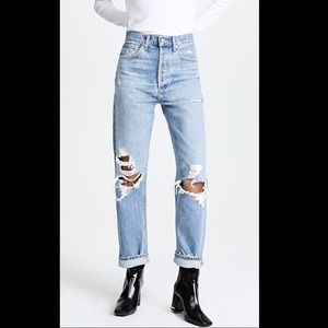 AGOLDE 90s Fit Mid Rise Loose Fit Jeans. Size 26.